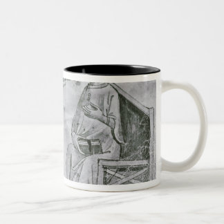 Averroes  in Conversation with Porphyry Two-Tone Coffee Mug