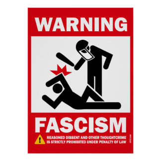 Avertissement Fascisme Posters