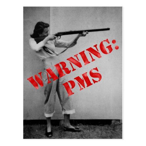 Avertissement : PMS Carte Postale