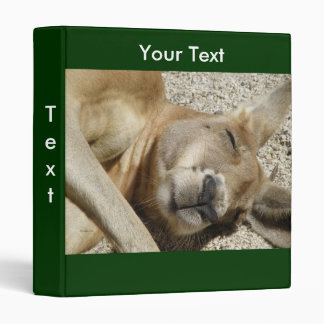 Avery Binder Template Sleeping Kangaroo Photo