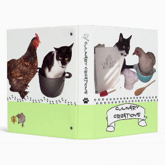 Avery Cat and Chicken Recipe Binder Contest