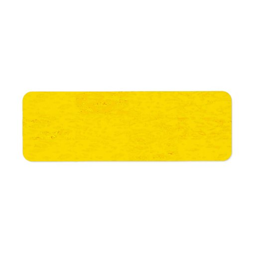 Avery Return Address Labels CRYSTAL YELLOW SPARKLE