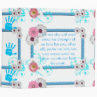 """Avery Signature 2"""" Binder/Baby Boy with Quote 3 Ring Binder"""