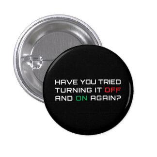 Avez-vous essayé de le tourner par intervalles enc badges avec agrafe