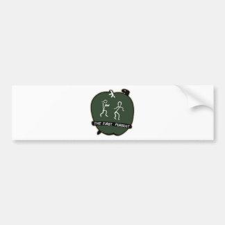 AVG Flying Tigers - 1st Pursuit SQdrn Adam & Eves Bumper Sticker