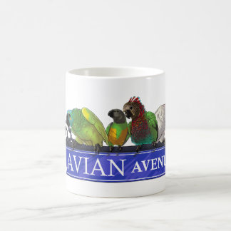 Avian Avenue mugs of all types