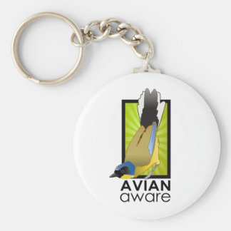 Avian Aware Logo Keychain