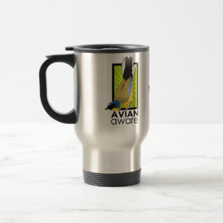 Avian Aware Logo Travel Mug