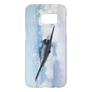 "Aviation Art Device Cass ""F6F Hellcat "" Samsung Galaxy S7 Case"