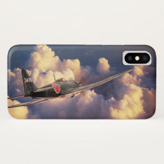 """Aviation Art Device Cass """"Mitsubishi A7M SAM """" Case-Mate iPhone Case"""