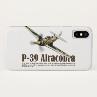 "Aviation Art Device Cass ""P-39 Airacobra "" Case-Mate iPhone Case"