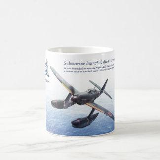 """Aviation Art Mug """"Aichi M6A Seiran clear storm """""""