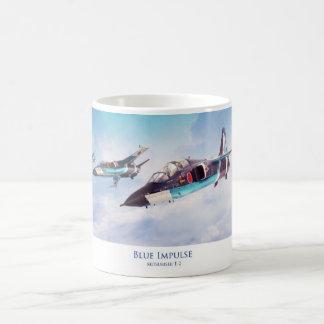 "Aviation Art mug ""Blue Impulse T-2 """