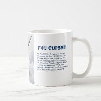 """Aviation art mug """"F4U Corsair """""""