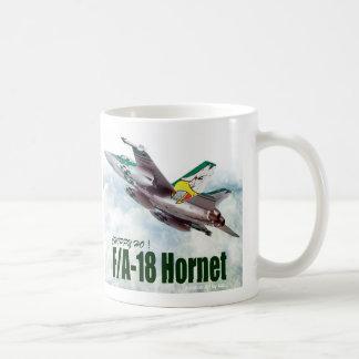 "Aviation Art Mug ""F/A-18 Hornet """