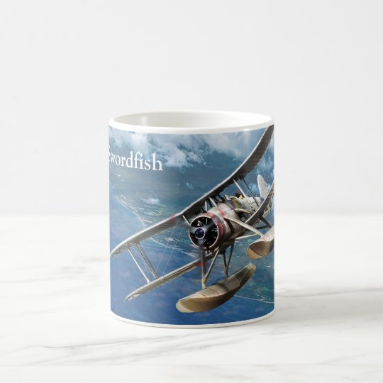 "Aviation Art Mug ""Fairey Swordfish """
