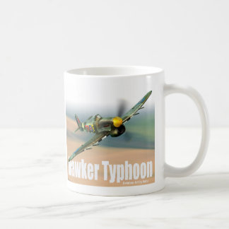"Aviation Art Mug ""Hawker Typhoon """