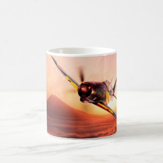 "Aviation Art Mug ""Mitsubishi J2M thunder and"