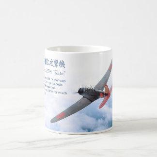 """Aviation Art Mug """"Nakajima B5N """"Kate """""""