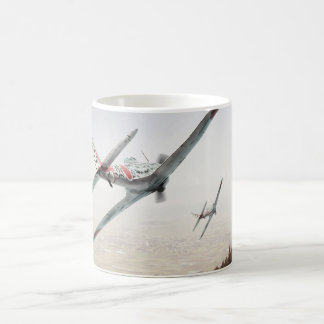 "Aviation Art mug ""Nakajima Ki-43 Hayabusa Oscar """