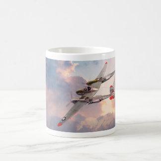"""Aviation Art mug """"P-38 Lightning """""""