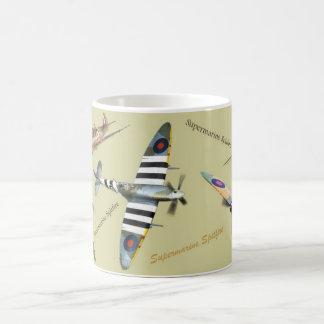 "Aviation Art Mug ""Supermarine Spitfire """