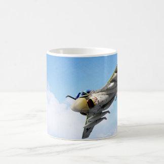 """Aviation Art mug """"Tanker Intruder  BLACK PANTHERS"""""""