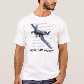 "Aviation art T-shirt ""F4U Corsair """