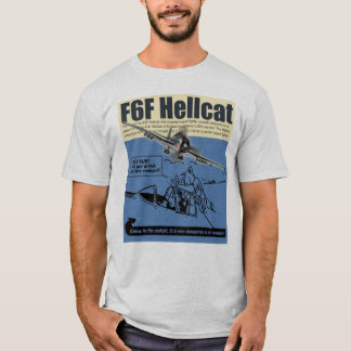 "Aviation Art T-shirt ""F6F Hellcat """