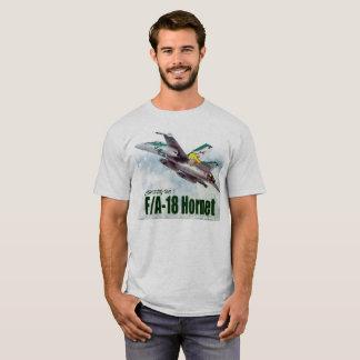 """Aviation Art T-shirt """"F/A-18 Hornet """""""