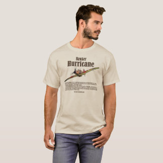 "Aviation Art T-shirt ""Hawker Hurricane """