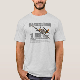 "Aviation Art T-shirt ""Messerschmitt Bf 109 """