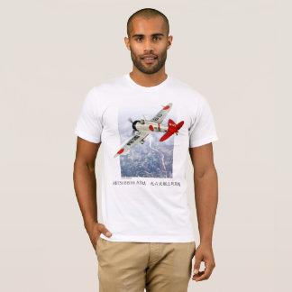 """Aviation Art T-shirt """"Mitsubishi A5M Claude """""""
