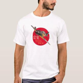 """Aviation Art T-shirt """"Mitsubishi J2M Raiden """""""