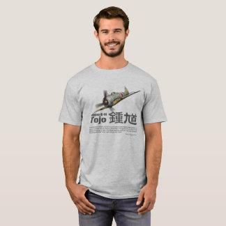 """Aviation Art T-shirt """"Nakajima Ki-44 Tojo """""""