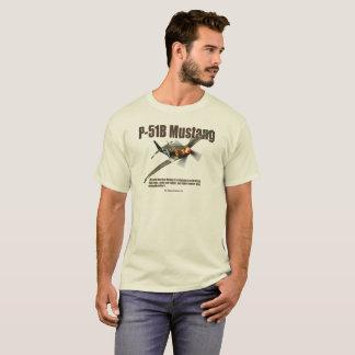 """Aviation Art T-shirt """"P-51B Mustang """""""