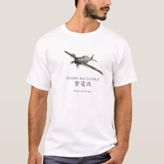 """Aviation Art T-shirt """"Shiden Kai """""""