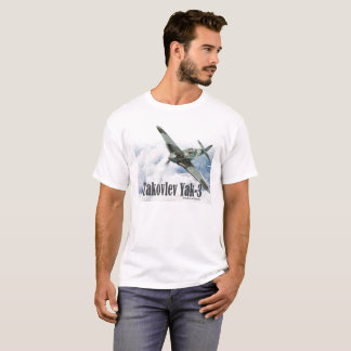 "Aviation Art T-shirt ""Yakovlev Yak-3 """