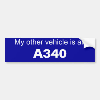 Aviation Bumper Sticker