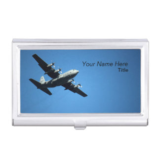 Aviation Business Card Holder