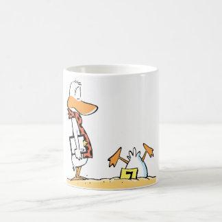 Aviation Humor Crashed Duck Cartoon Mug