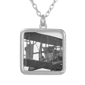 Aviation_in_Britain_Before_the_First_World_War_RAE Silver Plated Necklace