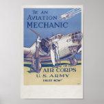 Aviation Mechanic Poster