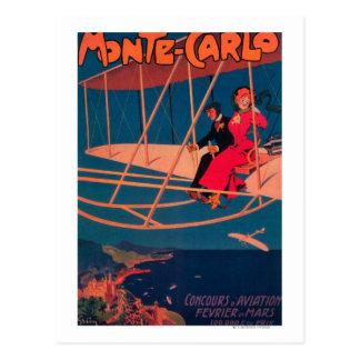 Aviation Sporting Poster Postcard