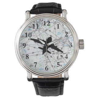 Aviation Watch, Gift for Pilot, Father's Day Gift Watch