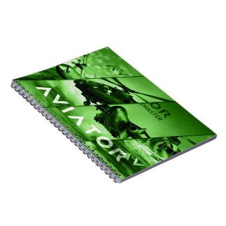Aviator AIrcrafts Notebooks