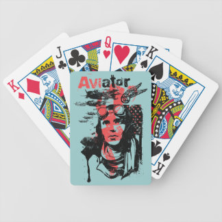 Aviator Bicycle Playing Cards