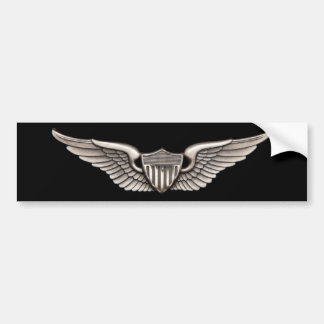 Aviator Bumper Sticker