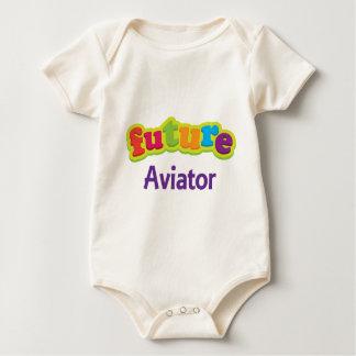 Aviator (Future) For Child Baby Bodysuit