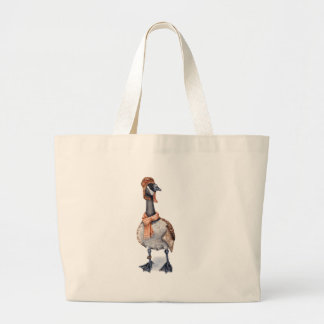 Aviator Goose Large Tote Bag